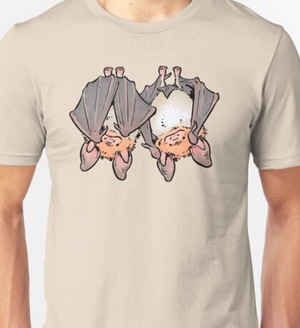Greater mouse-eared bats Unisex T-Shirt