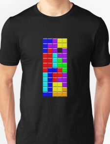 Colorful Tetrominoes Unisex T-Shirt