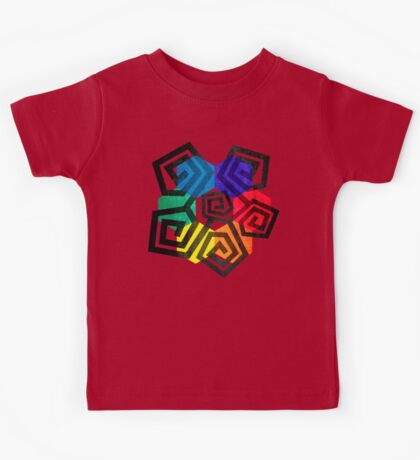 Shapes and Colors Geometric Abstract Art Kids Tee