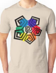 Shapes and Colors Geometric Abstract Art Unisex T-Shirt