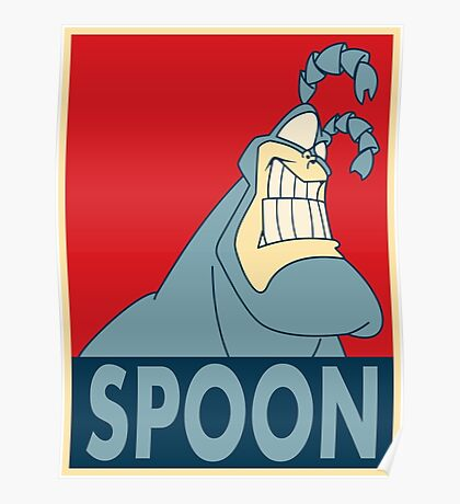 """The Tick SPOON- """"Hope"""" Poster Parody Poster"""