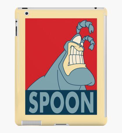 "The Tick SPOON- ""Hope"" Poster Parody iPad Case/Skin"