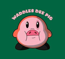 Waddles Dee Pig Unisex T-Shirt