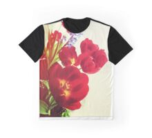 My Mom's Pretty Flowers Graphic T-Shirt