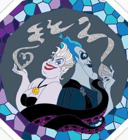 Ursula & Hades Villainous Love Sticker