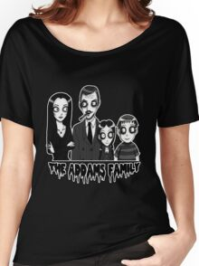 The Addams Family Portrait Women's Relaxed Fit T-Shirt