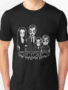 The Addams Family Portrait Unisex T-Shirt