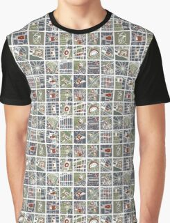 Urban fragments I of NewYork, Paris, London, Berlin, Rome and Seville Graphic T-Shirt