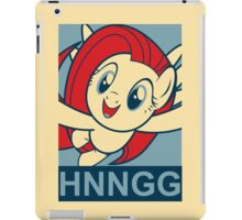 "Fluttershy HNNGG- ""Hope"" Poster Parody iPad Case/Skin"
