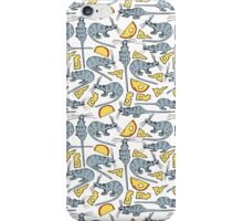 Mouse and cheese. vol.1 iPhone Case/Skin