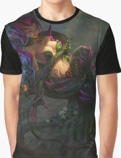 Zyra - Queen Of Flower Graphic T-Shirt
