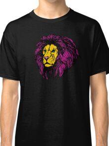 Lion Modern Pop Colors Classic T-Shirt