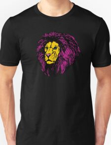 Lion Modern Pop Colors T-Shirt