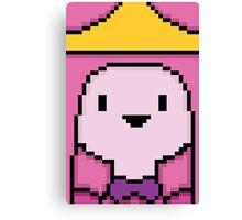 8-bit Princess Bubblegum Canvas Print