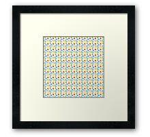 Floral & Paisley Design Framed Print