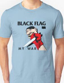 Punk Restyling killer knife Black Flag T-Shirt