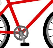 I am cyclist Sticker