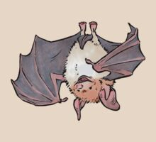 Greater mouse-eared bat by HenriekeG