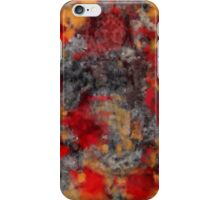 Red Filthy iPhone Case/Skin