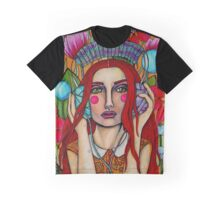 The Sound of Fiber Graphic T-Shirt