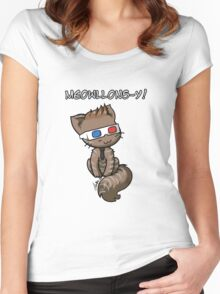 Meowllons-y Women's Fitted Scoop T-Shirt