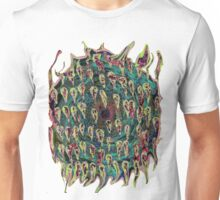 Vortex to hell with lots of color change Unisex T-Shirt
