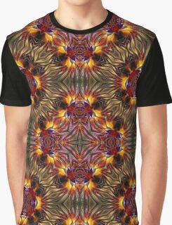 Glowing tribal design Graphic T-Shirt