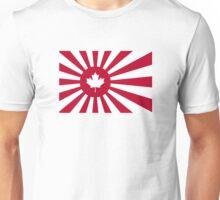 Japan / Canada Flag Mashup Unisex T-Shirt