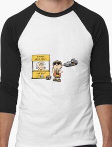 Peanuts Back 2 The Future Men's Baseball ¾ T-Shirt