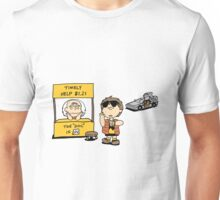 Peanuts Back 2 The Future Unisex T-Shirt
