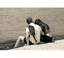 A Moment of Intimacy Photographic Print