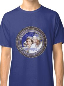 Queen Elizabeth, Happy 90th Birthday-Collector Design Classic T-Shirt