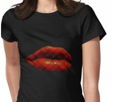 Punk Kisses Womens Fitted T-Shirt