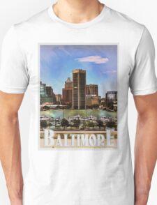 Baltimore Skyline T-Shirt