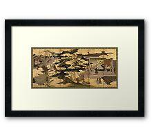 Japanese Art  Framed Print