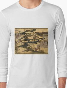 Japanese Art  Long Sleeve T-Shirt