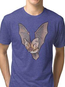 Grey long-eared bat Tri-blend T-Shirt