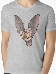 Grey long-eared bat Mens V-Neck T-Shirt