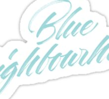 blue neighbourhood Sticker