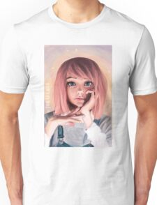 Pink Wig Unisex T-Shirt