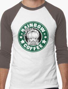 Rainbow Coffee Men's Baseball ¾ T-Shirt