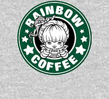 Rainbow Coffee Womens Fitted T-Shirt