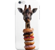 Giraffe Donuts iPhone Case/Skin