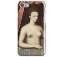 Vintage famous art - Anonymous - Gabrielle D Estrées And One Of Her Sisters iPhone Case/Skin