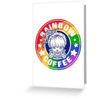 Rainbow Coffee - Special Edition  Greeting Card