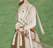 Vintage famous art - Anonymous - Portrait Of A Mughal Prince Possibly A Copy Of A Portrait Of Sultan Shuja (1616-1659) Sticker