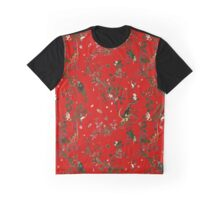 Monkey World Red Graphic T-Shirt