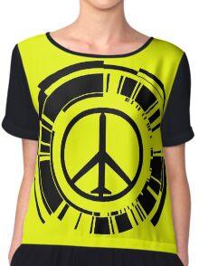Peace Chiffon Top
