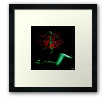 """Becoming"" Framed Print"