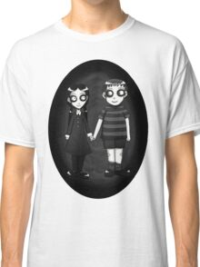 Dark little Wednesday and Pugsley Addams Classic T-Shirt